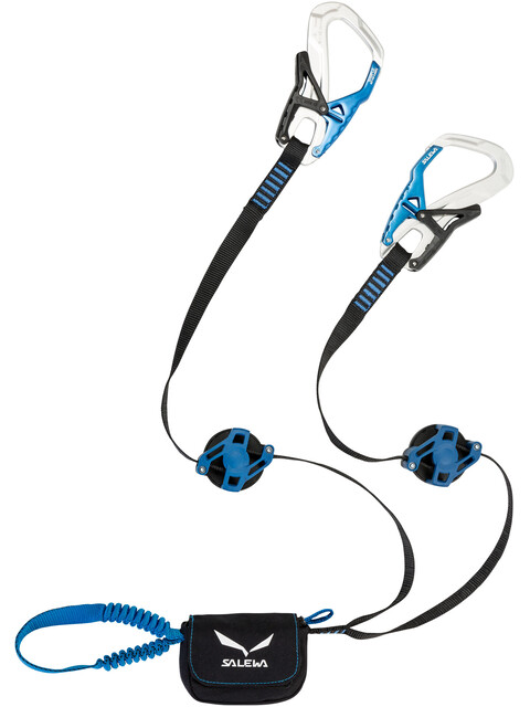 Salewa Ergo Zip Via Ferrata Set Silver/Royal Blue